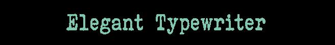 eleganttypwriter