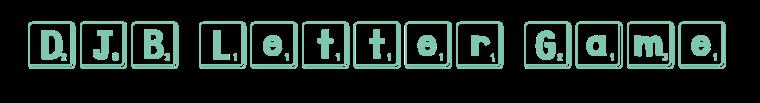 lettergame
